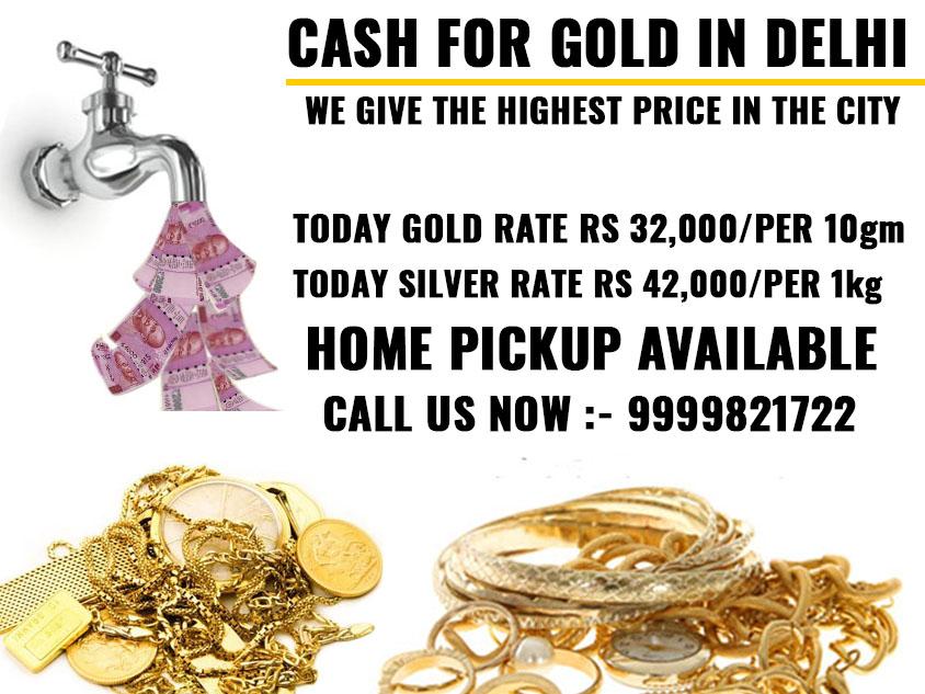 Cash for Gold in Delhi NCR : How to Find Cash for Gold