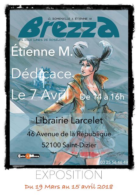 Expo Brezza Librairie Larcelet