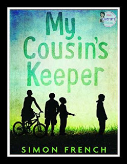 Recommended Read: My Cousin's Keeper by Simon French. Kieran, a fifth grade boy, struggles to decide if he wants to fit in with his friends or stand by his strange cousin Bon. What will it take for him to do what is right?