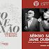 Sergio Sá e Jane Duboc em pocket show gratuito e aberto ao público, em Curitiba