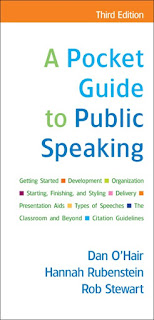 A Pocket Guide to Public Speaking 3rd Edition