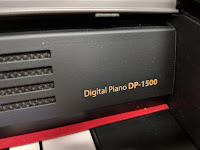 pictures of SLP150 piano and controls