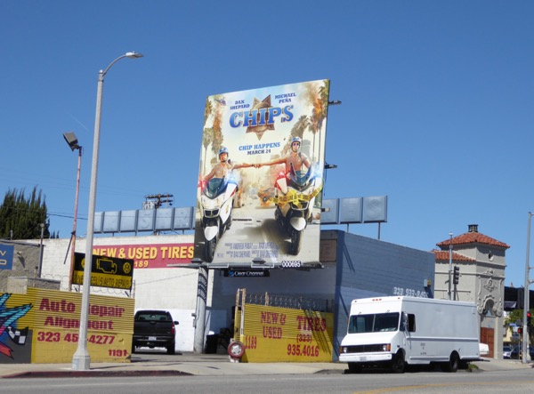 Chips film billboard