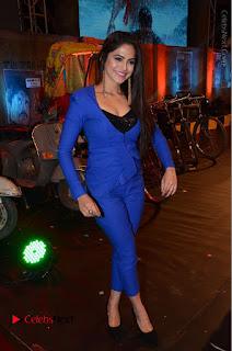 Actress Naina Ganguly Stills in Blue Dress at RGV Shiva to Vangaveeti Event  0053.JPG