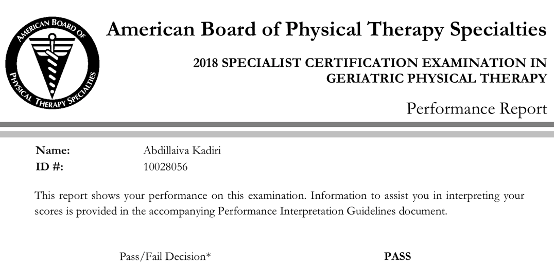 Becoming A Board Certified Clinical Specialist What Does It Mean