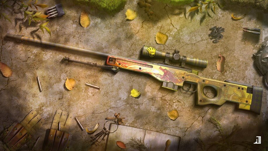 CS:GO, AWP, Sniper, Rifle, 4K, #4.3176