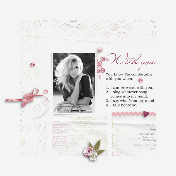 with you © sylvia • sro 2019 • it's my life vol 3 template & romantic letter by prelestnayaP design