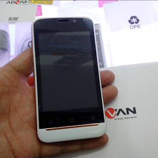 Cara Flash Advan S3E Via PC Mudah
