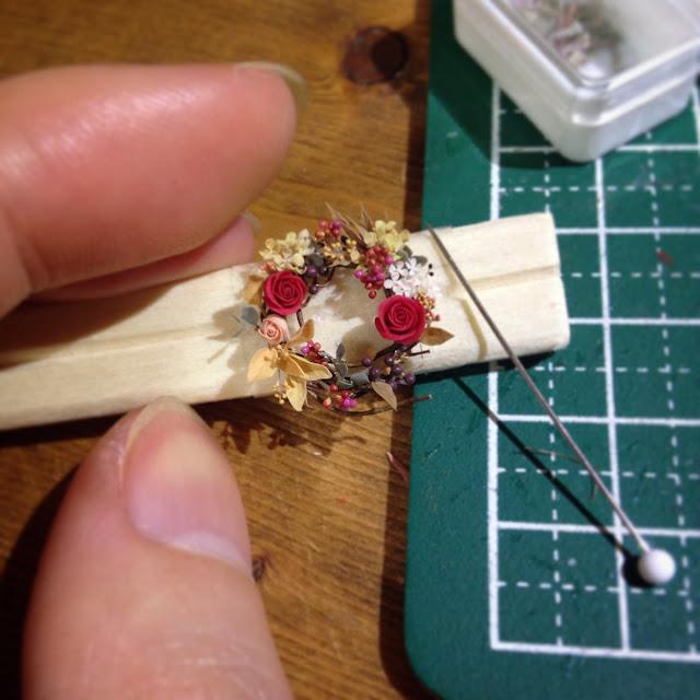 miniaturowe wianuszki