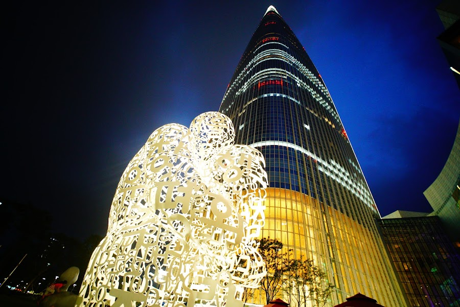 Lotte World Tower, tallest building in Korea