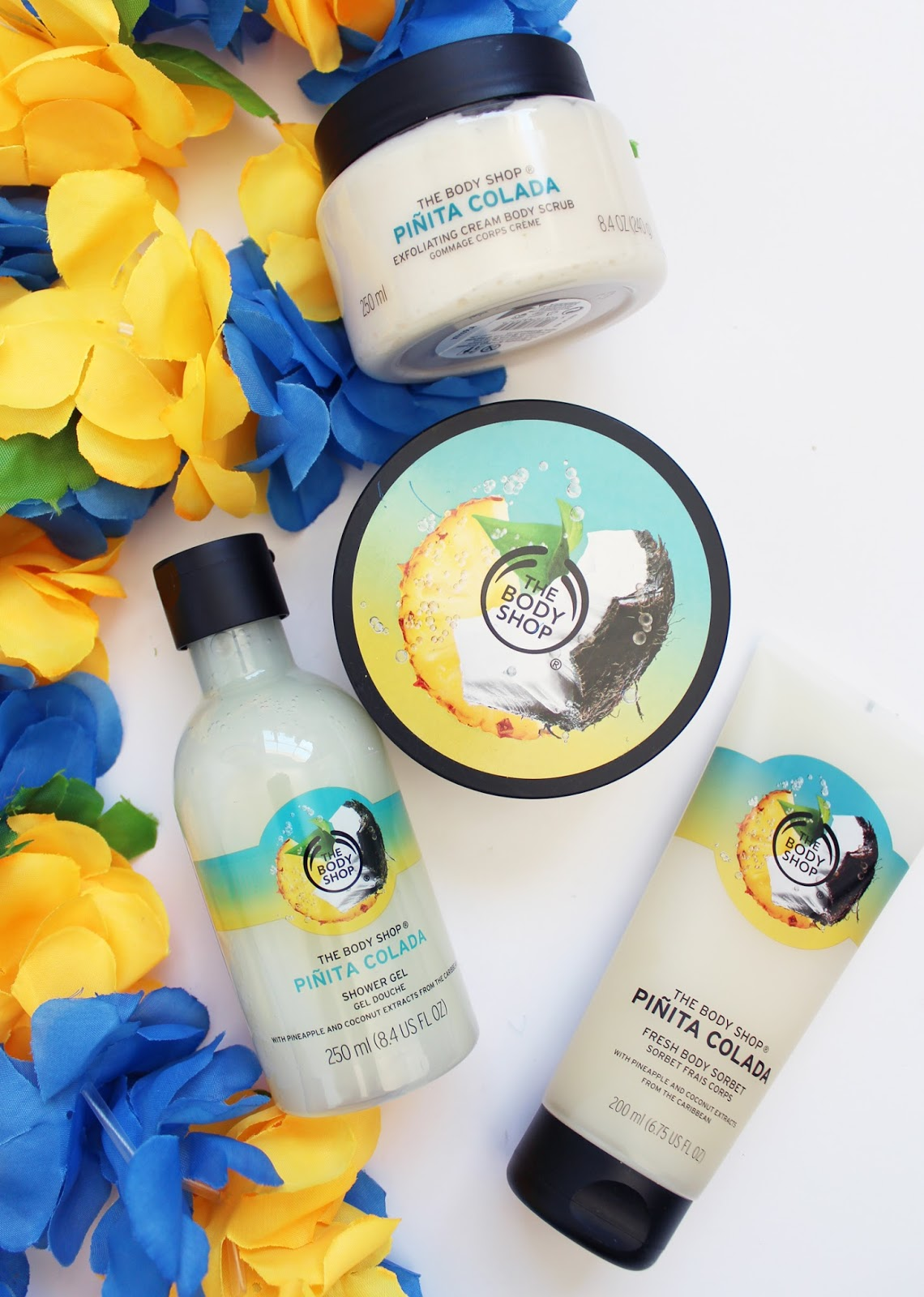THE BODY SHOP | Pinita Colada Range for Summer '16 - CassandraMyee