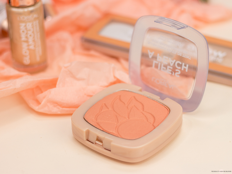 L'Oréal Wake Up And Glow Sommerkollektion Summer Collection Drogerie Life's a peach Blush