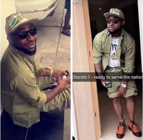 Davido Finally Registers For NYSC After Graduating 4 Years Ago – See Photos