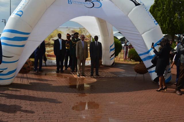 El Presidente de la República de visita oficial a Botswana