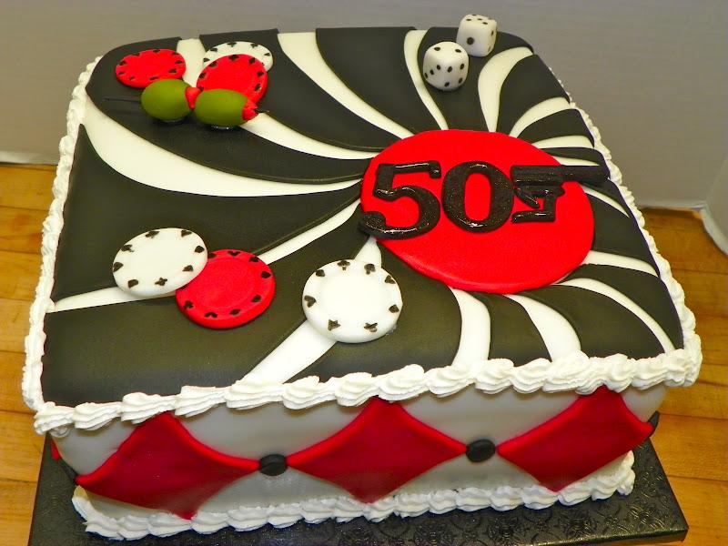 Plumeria Cake Studio James Bond 50th Birthday Cake