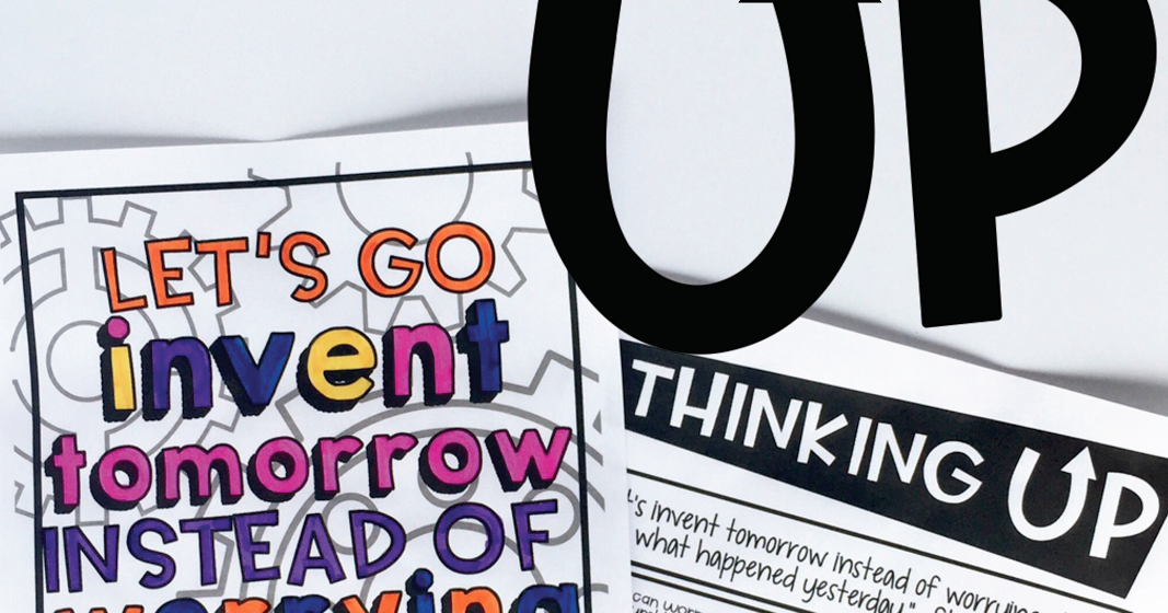 theteachyteacher: Thinking Up! Growth Mindset Quotes!