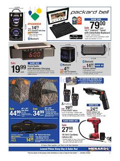 Menards Weekly Ad December 16 - 22, 2018
