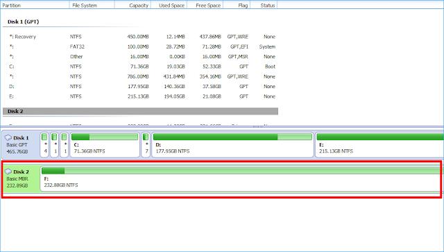 Cara Merubah Partition HDD MBR ke GBT