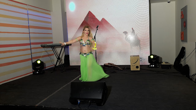 Belly dance  at ibis Hyderabad HITEC City