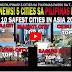 GOOD NEWS PILIPINAS! 5 CITIES SA PILIPINAS PASOK SA TOP 10 SAFEST CITIES IN ASIA 2018! PANOORIN