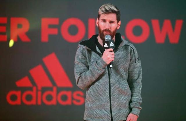 adidas recomienda a Messi no hablar de su renovación con el Barcelona