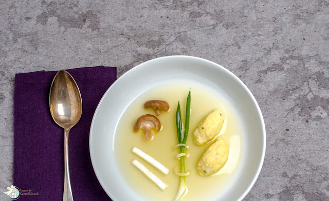 Kartoffelsuppe mal anders vegetarisch