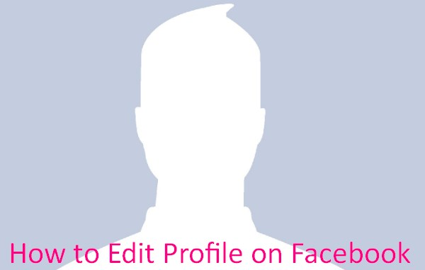 How to edit profile on facebook