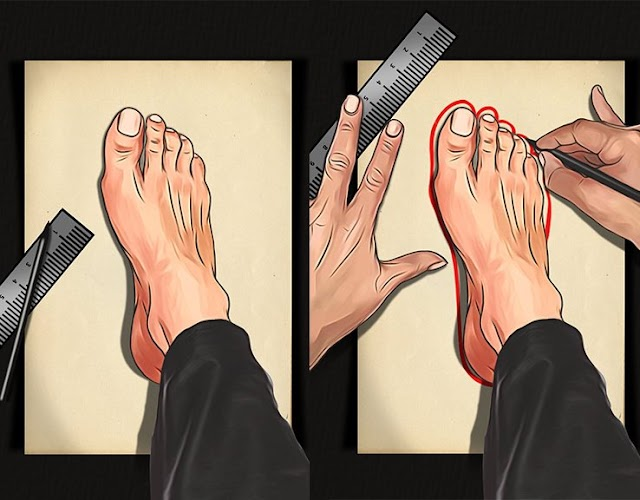 كيفية تحديد قياس القدم عند شراء الحذاء من النت