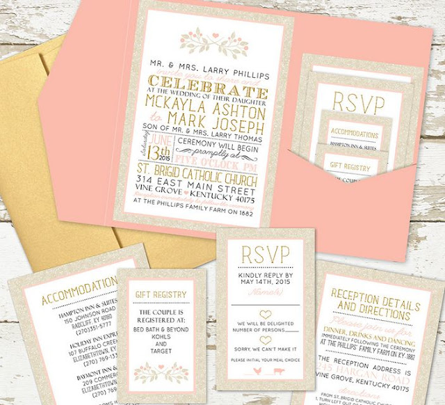 What To Put On Wedding Invitations