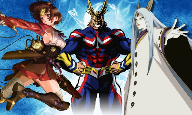 5 Overpowered Anime Characters : Anime lap top overpowered characters from