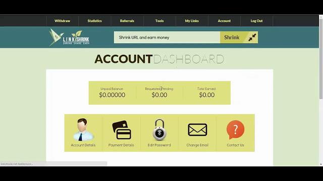 Link Shrink – Shorten Links & EARN Money