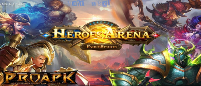 Game Terbaru Android Moba Mobile Heroes Arena Game Terpopuler Saat Ini