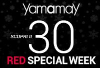 Logo Red Special Week: sconto 30% su intimo, lingerie e pigiami