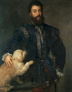 Titian's 1525 portrait of Federico as an adult can be seen at the Prado museum in Madrid