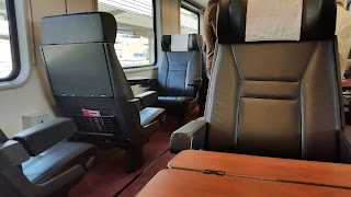 Eurail Pass enabled us to travel first class across Europe.