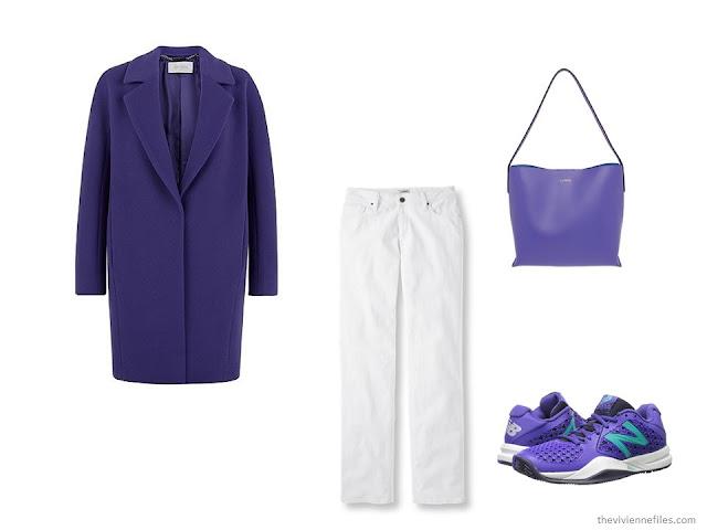 What Women were Wearing in Paris, Spring 2016 - purple