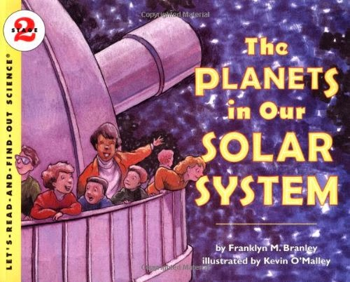 The Planets In Our Solar System, part of children's book review list about outer space