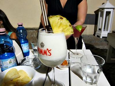 Daqiri loungebar i Taormina