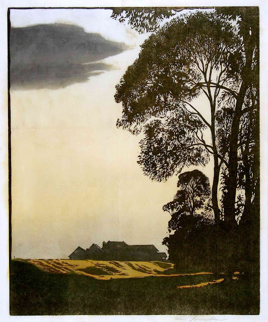 Leo Frank art 1908 farm
