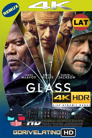 Glass (2019) BDRemux 4K HDR Latino-Ingles MKV