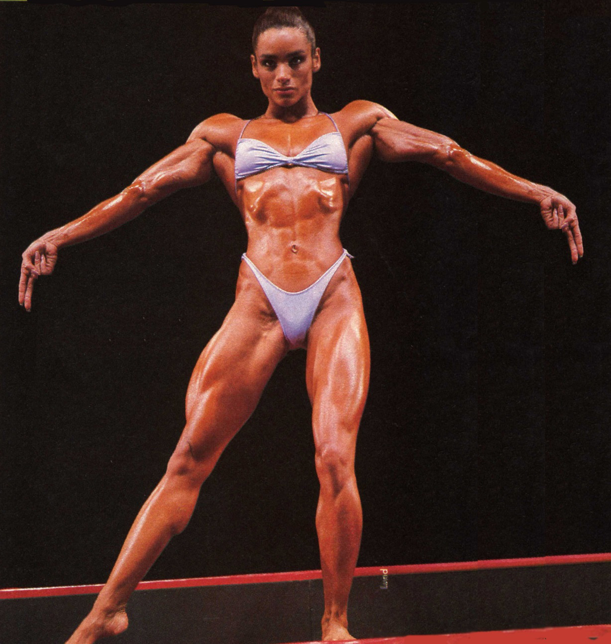 80's Female Muscle: Gladys Portugues