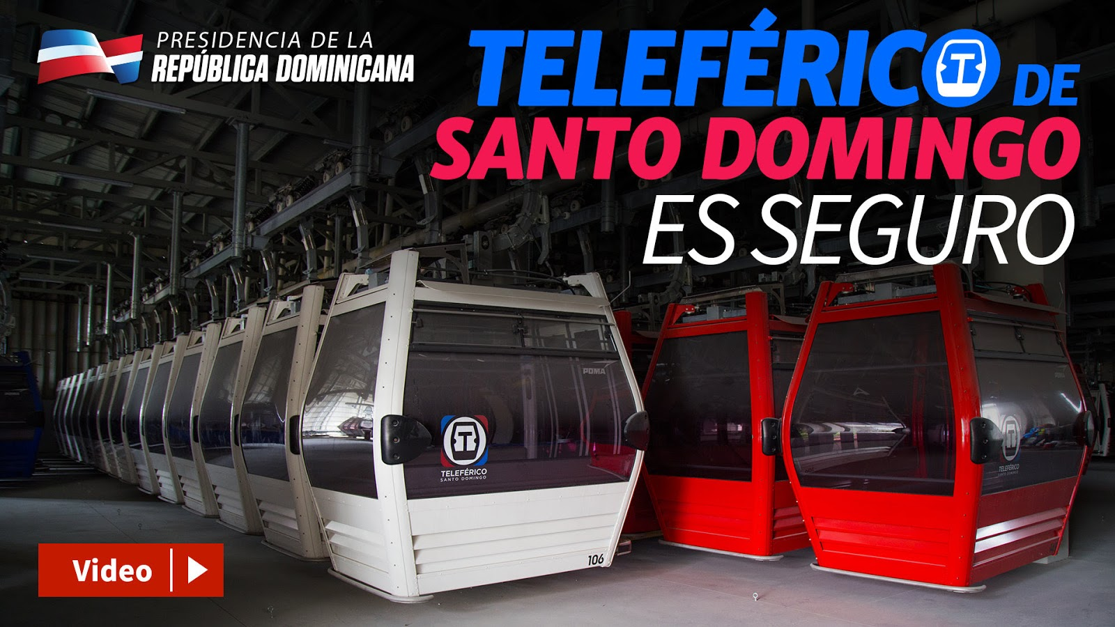 VIDEO: Teleférico de Santo Domingo es seguro