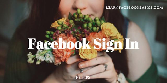 Facebook Sign In New Account - Mobile Facebook Login