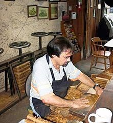 Hand making cigars