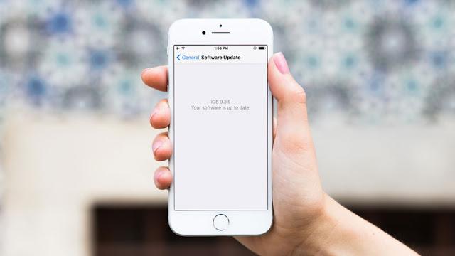 Menghapus Update iOS yang Sudah Terunduh Otomatis
