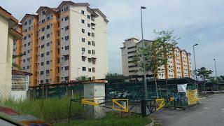 Apt Melur Sek 5 Bandar Baru Bangi untuk disewa