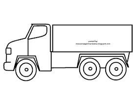 Sketsa Mobil Mobilan