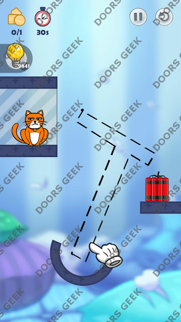 Hello Cats Level 93 Solution, Cheats, Walkthrough 3 Stars for Android and iOS