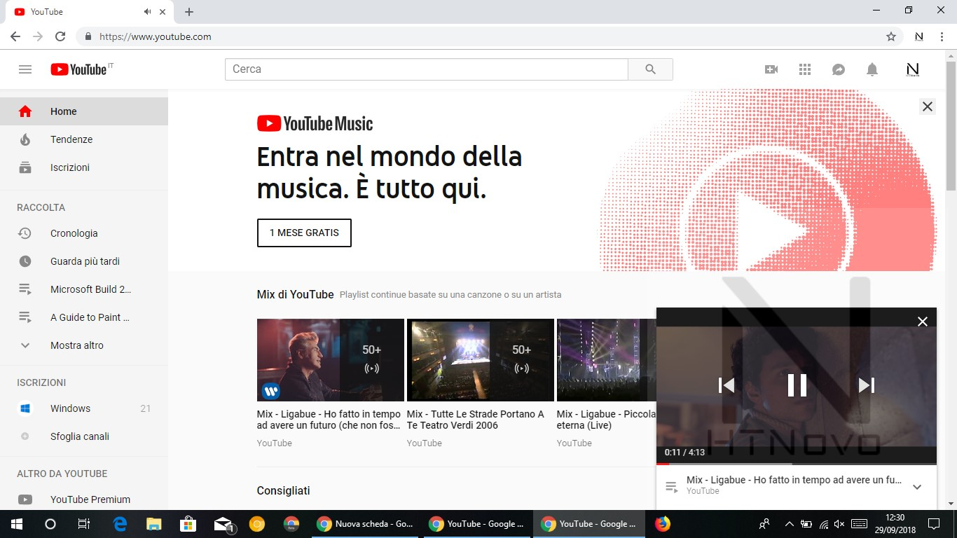Miniplayer-pop-up-YouTube-Web