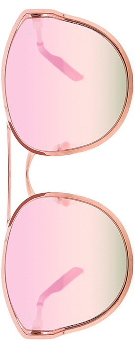 QUAY CHERRY BOMB SUNGLASSES ROSE GOLD